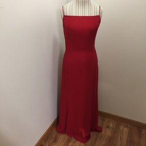 Gunne Sax Vintage Floor Length Jeweled Formal Gown